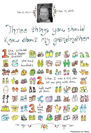 Three things you should know about my grandmother