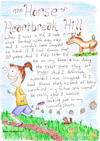 The horse of heartbreak hill