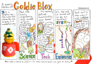 A mom's review of Goldie Blox